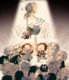 Read Kimetsu No Yaiba / Demon slayer full Manga chapters in English online! Anime Chibi, Manga Anime, Anime Meme, Otaku Anime, Anime Guys, Anime Art, Seshomaru Y Rin, Slayer Meme, Hxh Characters