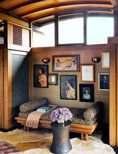 The office in designer Ken Fulk's hilltop San Francisco home