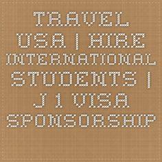 Travel USA | Hire International Students | J-1 Visa Sponsorship | Work & Travel Opportunities in USA | InterExchange