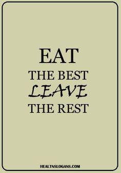 9 Best Healthy Eating Slogans images | Healthy eating ...