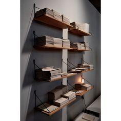 Frama Shelf wandplank 40x20. Voor de boekenwurm of de verzamelaar! @framacph #wandplanken #design #Flinders