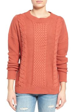 Rhythm 'Fleetwood' Cable Knit Sweater