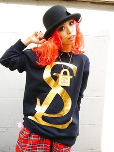 SL Logo Sweat Gold. See more at: http://www.cdjapan.co.jp/apparel/superlovers.html #harajuku #SUPER LOVERS