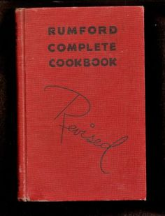 1939 Rumford Baking Powder Advertising Cookbook @ Vintage Touch $8.00  SOLD