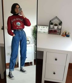 Vintage Outfits for larger women Retro Outfits, Vintage Outfits, Edgy Outfits, Mode Outfits, Grunge Outfits, Girl Outfits, Layered Outfits, Grunge Clothes, 90s Fashion