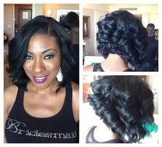 Sew in hairstyles - New Hair Styles ideas Sew In Hairstyles, My Hairstyle, Pretty Hairstyles, Black Hairstyles, Birthday Hairstyles, Love Hair, Great Hair, Gorgeous Hair, Natural Hair Styles