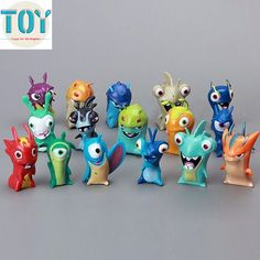 Find More Action & Toy Figures Information about New 16 PCS Slugterra Toy All Different Mini Action Figure Doll Cartoon Decoration 4 5cm Kids Toys Gift Collections Free Tracking,High Quality toys disney,China gifts for young couples Suppliers, Cheap toy story gift from Toys in the Kingdom on Aliexpress.com