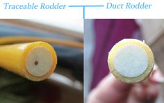 Traceable Duct Rodder www.duct-rod.com