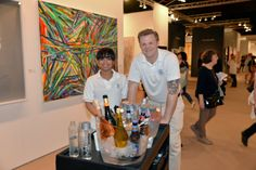 A wonderful afternoon at the #DowntownFair in NYC featuring the best #modern and #contemporary artists around the world. We are so glad to be part of such an exciting event. Thank you for having us and we hope we kept everyone hydrated and refreshed! Photo Credit: Annie Watt