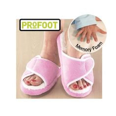 PROFOOT MEMORY FOAM SLIPPERS | Better Senior Living