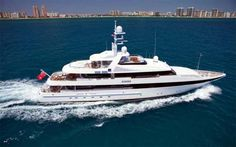 "Motor Yacht for Sale ""Kisses"" from Ocean Yachting International."