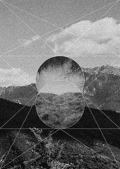 #circle #circles #black #white #geometry