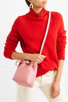 MANSUR GAVRIEL Mini Mini leather bucket bag. Affiliate link.