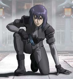 Ghost in the Shell's Major Motoko Kusanagi is the essence of strength and femininity.