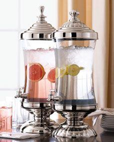 Godinger Glass Beverage Servers