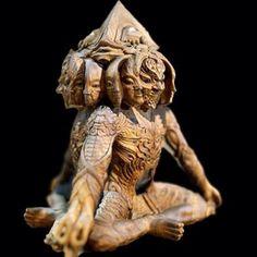 Got my Alpha Centauri wood sculpture 3D scanned in high resolution... Next step 3D printing