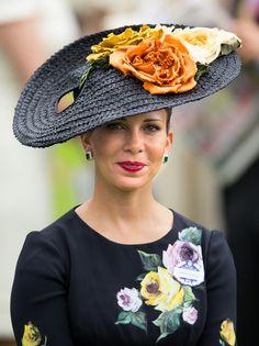 Princess Haya Bint Al Hussein of Jordan, Sheikha of Dubai, June 18, 2013 | The Royal Hats Blog