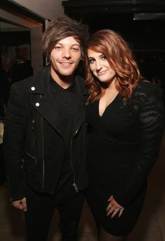 Louis Tomlinson and Meghan Trainor | Billboard