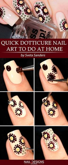 Super Simple DIY Nails Designs Every Girl Should Know ★ See more: - Diy Nail Designs Trendy Nail Art, Nail Art Diy, Easy Nail Art, Diy Nails, Diy Nail Designs, Simple Nail Designs, Easy Designs, Diy Design, Design Art