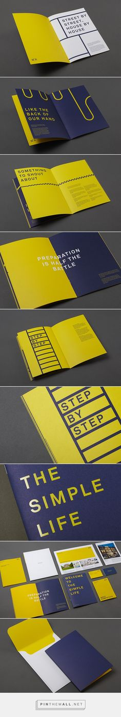 Benham & Reeves Identity on Behance... - a grouped images picture - Pin Them All