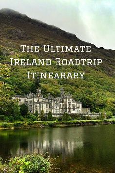 The Ultimate Ireland Roadtrip Itinerary.  Click the pin to read the post from www.flirtingwiththeglobe.com #ireland #roadtrip