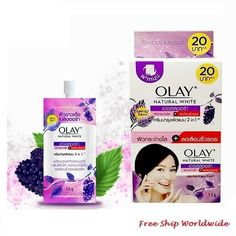 Olay Natural White Ageless Aura PA++ Whitening Face Cream x 6 Whitening Cream For Face, Whitening Face, Vitamin A Acne, Face Yoga, Skin Care Cream, Face Skin Care, Olay, Travel Size Products