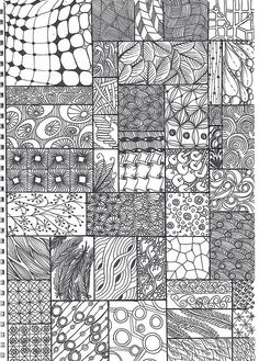 Zentangle - ohhhh, so thats whatthat is called. @Kendell S. Barrie & I did something kinda like this. Just less, erm, perfessional looking. :)