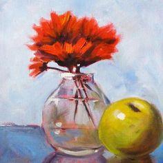 Title:  Red Still  Artist:  Nancy Merkle