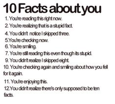 10 funny facts