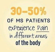 multiple sclerosis...... it's all on my left side.