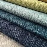 Fabric Houses, Blue Fabric, Guest Room, Upholstery, Blues, Fabrics, Chair, Key Largo, Tejidos