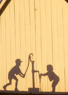 """1st Place (Life on the Farm): """"Washing Hands"""", Jim Grace ~  photo taken in Albany, MO"""