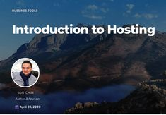 If you're building your first website, there 's one area where it's worth spending more attention - Hosting