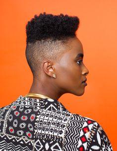 Afropunk Hair Portraits by Artist Awol Erizku – Vogue