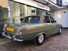 1975 Rover 3500 - miles only *** Under Offer *** (picture 5 of Blue Mini Cooper, Mini Cooper Sport, Gt Cars, Cars Uk, Rover P6, Classic European Cars, Latest Cars, Retro Cars, Cool Bikes
