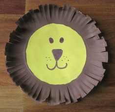Paper Plate Lion · Zoo craftsAnimal ... & 19 best Zoo animals made with paper plates. images on Pinterest ...