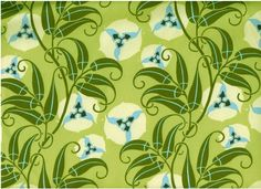 Amy Butler fabric-passion vine/lime