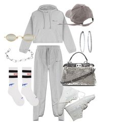 """Cassie"" by jf-brussels ❤ liked on Polyvore featuring Vetements, Mattia Cielo, Fendi and Annelise Michelson"