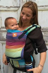 TULA Baby Carriers | Toddler Carriers — (Standard Size) Half Wrap Conversion Tula Baby Carrier - Girasol Symph