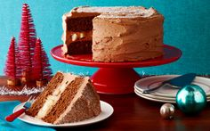 Spice Route: Holiday Gingerbread Cake