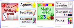 Great site with all kinds of printable resources! Never make a label again!