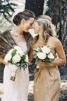 Mammoth Lakeside Wedding: http://ruffledblog.com/mammoth-lakeside-wedding/