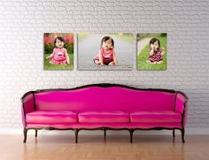 crazy pink sofa! who wants one?  mywebroom.com