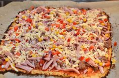 Bakekona - Lidenskap for en sunn livsstil Hawaiian Pizza, Fried Rice, Cauliflower, Paleo, Lose Weight, Food And Drink, Low Carb, Healthy Recipes, Healthy Food
