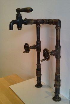 Купить кран-смеситель - кран, смеситель, бронза, начало века, ванна, дизайн, интерьер