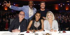 Judges Simon, Julianne, Gabrielle, Howie, Terry.