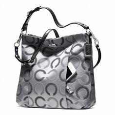 silver coach purse - Google Search
