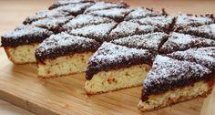 Csokis-kókuszos piskóta recept New Recipes, Cooking Recipes, Hungarian Recipes, Desert Recipes, Nutella, Cheesecake, Food And Drink, Gem, Sweets