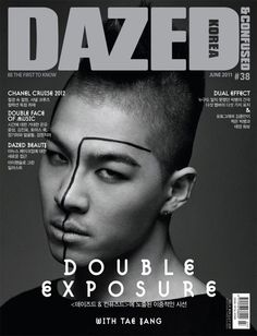 Big Bang - Dazed and Confused Magazine June Issue '11 --- Taeyang