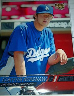 2008 Stadium Club CLAYTON KERSHAW RC  LA Dodgers Rookie #LosAngelesDodgers
